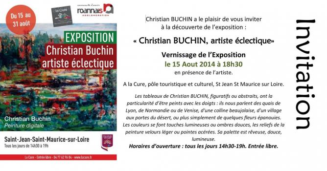 Invitation vernissagesaint jean saint maurice c buchin